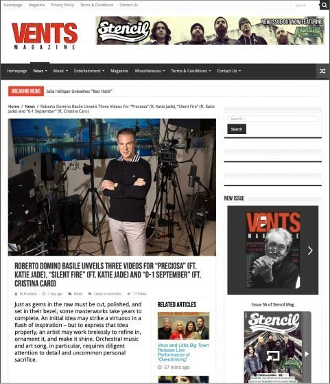 VENTS MAGAZINE RDB oct29019